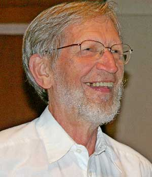 Alvin Plantinga at Mayo Clinic in Rochester, Minnesota.