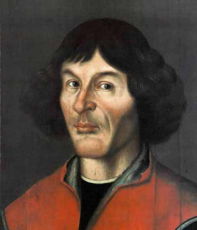 Nicolaus Copernicus portrait from Town Hall in Thorn/Torun - 1580