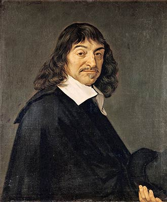 Portrait of René Descartes (1596-1650). Author: Frans Hals